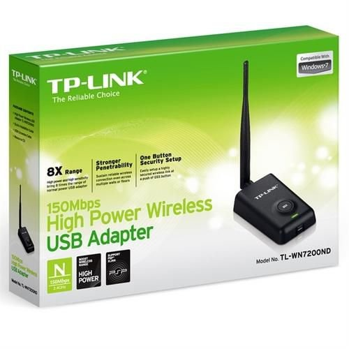 ADAPTADOR WIRELESS USB 150MBPS TL-WN7200ND - TP-LINK