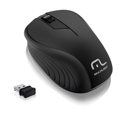 MOUSE WIRELESS WAVE PRETO MO212 - MULTILASER
