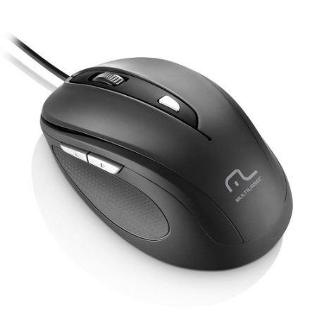 MOUSE USB COMFORT PRETO MO241 - MULTILASER