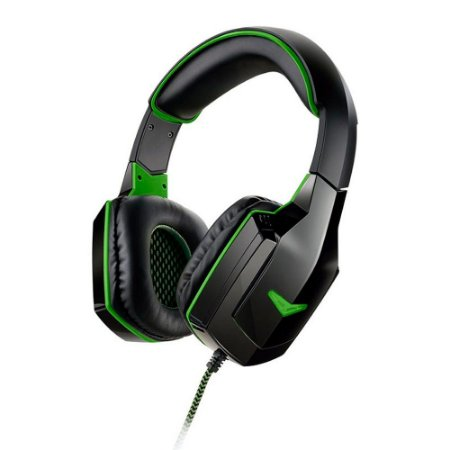 HEADSET GAMER WARRIOR PRETO/VERDE PH180  - MULTILASER