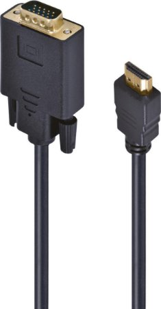 CABO HDMI P/ VGA MACHO/MACHO 2MTS HV-2 - VINIK