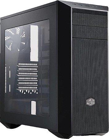 GABINETE GAMER MASTER CASE 5 PRETO/ACRILICO MCY-B5S1-KWYN-04 - COOLERMASTER