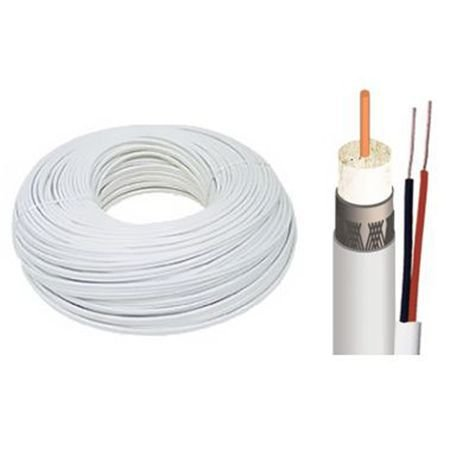 CABO COAXIAL BIPOLAR 4MM 80% + 2X26 AWG