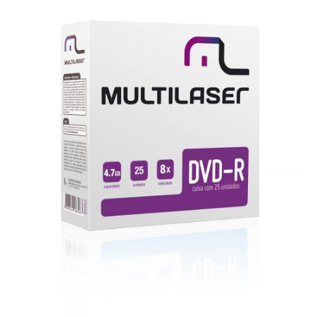 DVD-R ENVELOPES DV042 UNIDADE - MULTILASER