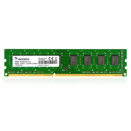 MEMORIA RAM DDR3 1600MHZ 4GB ADDU1600W4G11 CL11 - ADATA