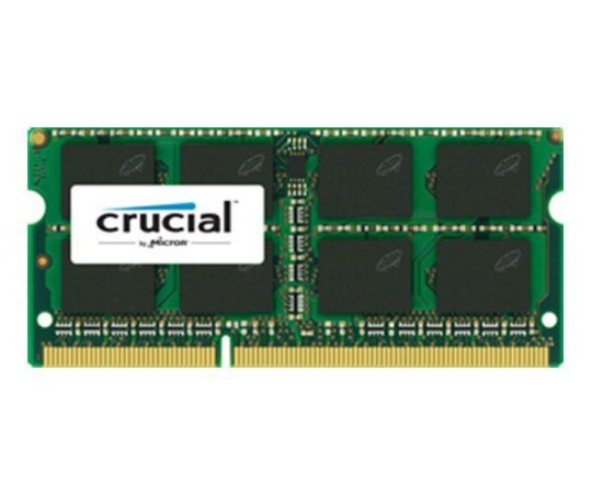 MEMORIA RAM NOTEBOOK DDR3L 1600MHZ 4GB CT51264BF160B - CRUCIAL BY MICRON