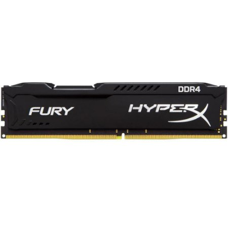 MEMORIA RAM DDR4 8GB 2400MHZ HYPERX FURY BLACK CL15 HX424C15FB2/8 - KINGSTON