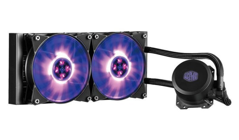 WATER COOLER MASTERLIQUID ML240L RGB MLW-D24M-A20PC-R1 - COOLER MASTER