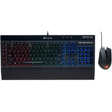 KIT GAMER TECLADO K55 RGB & MOUSE HARPOON RGB CH-9206115-BR - CORSAIR