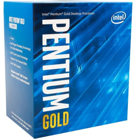 PROCESSADOR INTEL PENTIUM GOLD G5400 QUAD CORE 3.7GHZ BX80684G5400 4MB LGA 1151