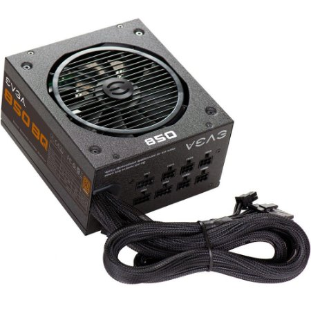 FONTE ATX 850W 80 PLUS BRONZE SEMI-MODULAR 110-BQ-0850-V0 - EVGA