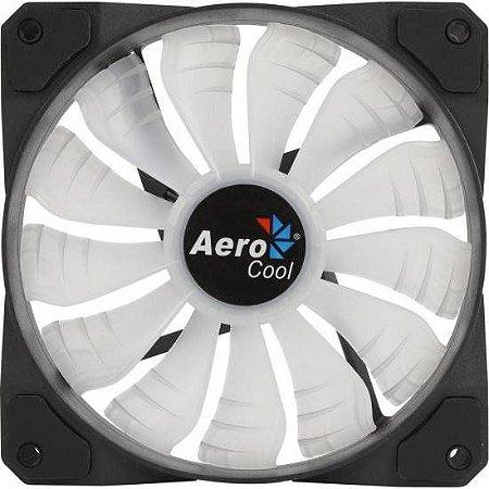 COOLER PARA GABINETE 120MM PROJECT 7 RGB P7-F12 PRETO - AEROCOOL