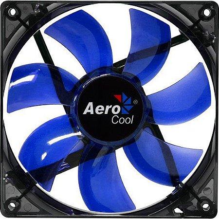 COOLER PARA GABINETE 120MM LIGHTNING AZUL  - AEROCOOL