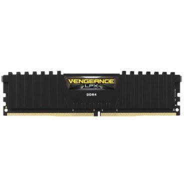 MEMORIA RAM DDR4 2666MHZ 8GB VENGEANCE LPX CMK8GX4M1A2666C16 PRETA - CORSAIR