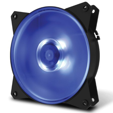COOLER PARA GABINETE 120MM MASTERFAN MF120L BLUE R4-C1DS-12FB-R1 - COOLER MASTER