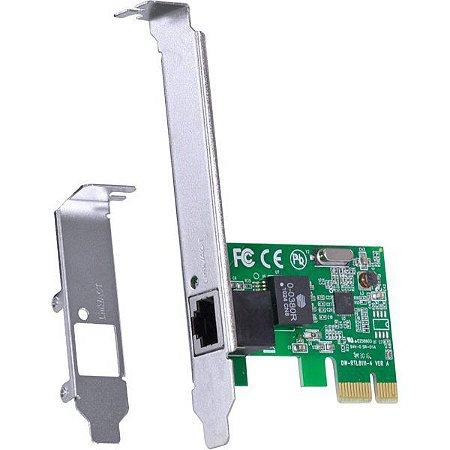 PLACA DE REDE PCI-E 10/100 PRV100E - VINIK