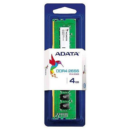MEMORIA RAM DDR4 2666MHZ 4GB AD4U2666W4G19-S - ADATA