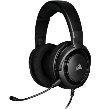 HEADSET GAMER HS35 PRETO COMPATÍVEL COM PC/PS4/XBOX-ONE CA-9011195-NA - CORSAIR