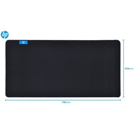 MOUSE PAD GAMER MP7035 70X35 GAMING PRETO - HP