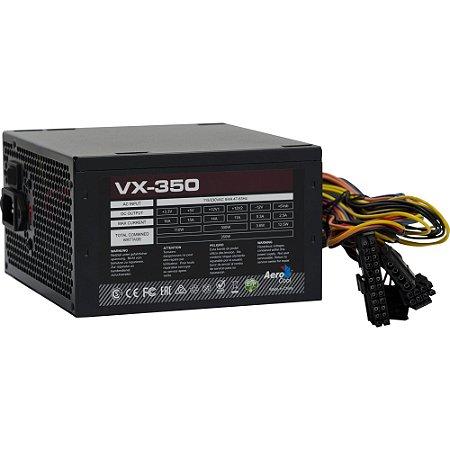 FONTE ATX 350W S/CABO VX350 - AEROCOOL