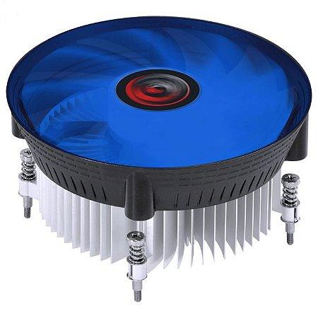 AIR COOLER PARA CPU NOTUS I300 100W AZUL INTEL - PCYES