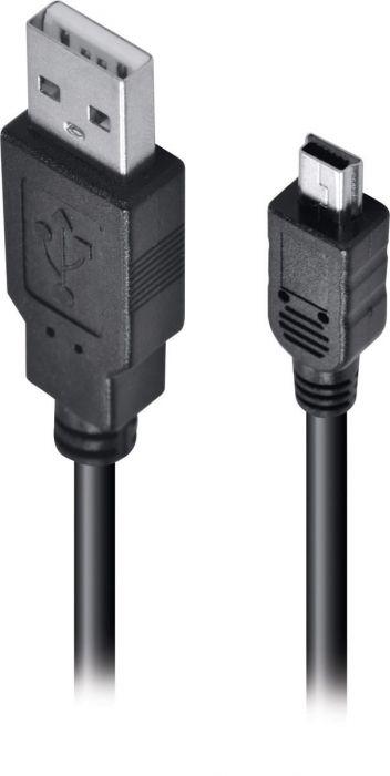 CABO USB MINI USB 2.0 2MTS UAM5P-2 - VINIK