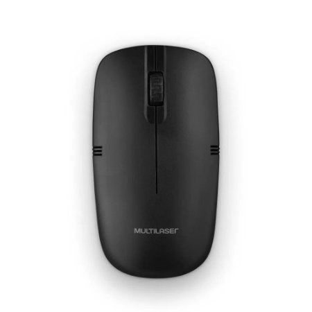 MOUSE WIRELESS PRETO MO285 - MULTILASER