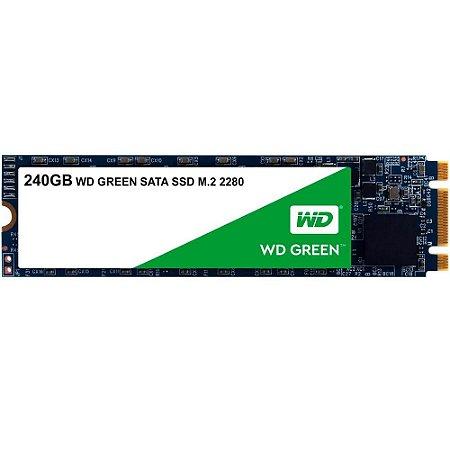 SSD 240GB M2 2280 SATA WDS240G2G0B - WESTERN DIGITAL