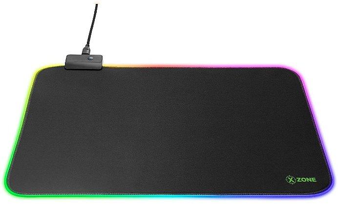 MOUSE PAD GAMER GMP-01 35X25 LED RGB - XZONE