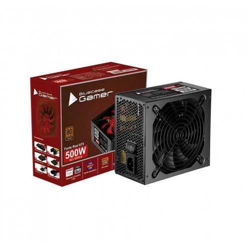 FONTE ATX 500W 80 PLUS BRONZE BLU500R-B - BLUECASE