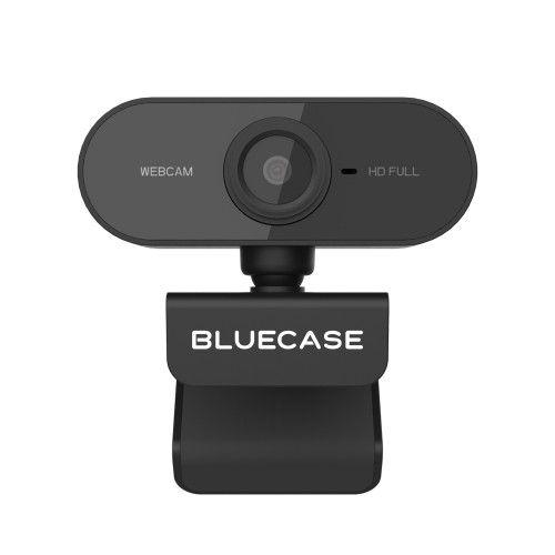 WEBCAM 1080P FULLHD BWEB1080P-02 USB/MIC PRETA - BLUECASE