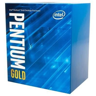 PROCESSADOR INTEL PENTIUM GOLD G6400 QUAD CORE 4GHZ 10 GERAÇÃO LGA1200
