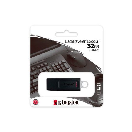 PEN DRIVE DATATRAVELER EXODIA 32GB DTX/32GB - KINGSTON