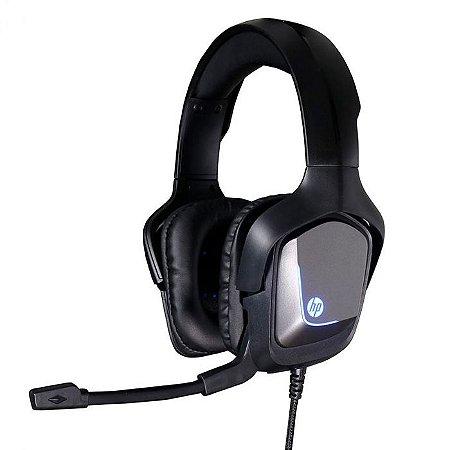 HEADSET GAMER USB H220GS 7.1 PRETO/CINZA - HP