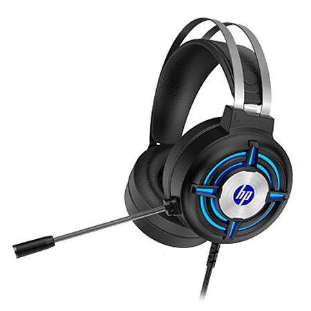 HEADSET GAMER H120 50MM PRETO P2/LED USB 2.2M - HP