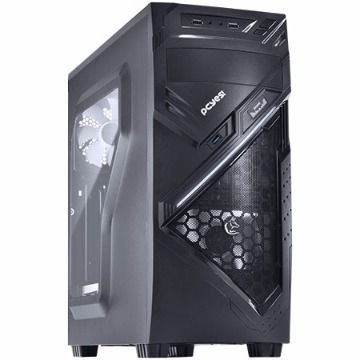 GABINETE GAMER CHACAL C/ LED BRANCO - PCYES