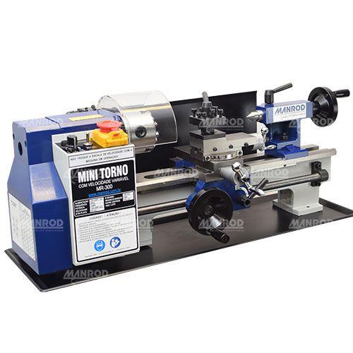 Mini Torno Hobby 180x300mm 250W Ref: MR-300