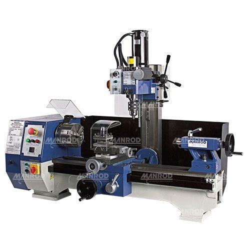 Máquina Multifuncional (Torno + Furadeira + Fresadora) ReF: MR-2005