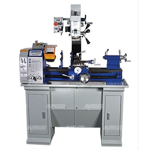 Máquina Multifuncional (Torno + Furadeira + Fresadora) Ref: MR-2007