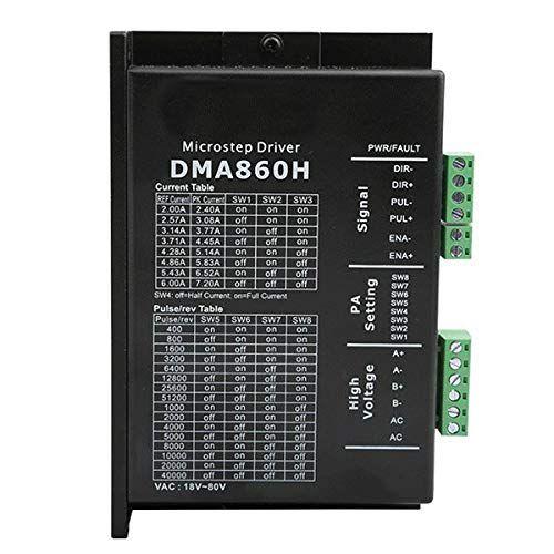 Driver Digital Para Motor de Passo DMA860H  7.2A