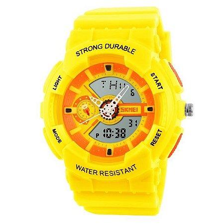 7b7d1c717b8 Relógio Infantil Skmei Anadigi 1052 AM - Shecom