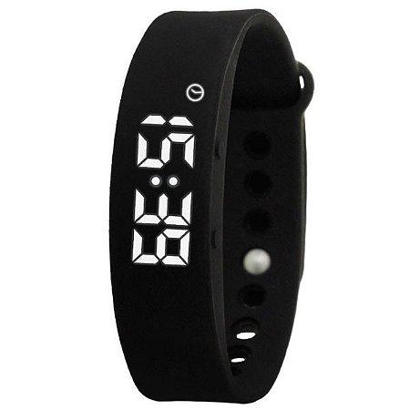 26beb178157 Relógio Masculino Skmei Pedômetro Smart Digital W05 PT - Shecom