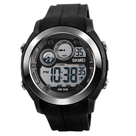 94803961848 Relógio Masculino Skmei Digital 1234 Preto - Shecom