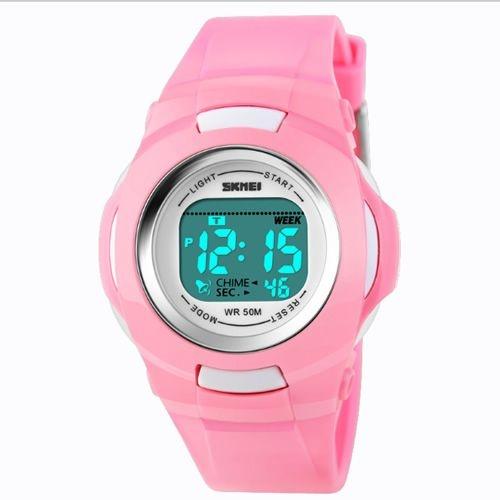 4c6f3ad9ae9 Relógio Skmei Digital 1094 Rosa - Shecom