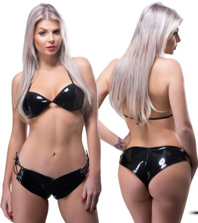 Short e Top Vinil Conjunto - SLS09