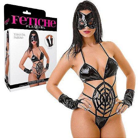 Fantasia Mulher Aranha - LIN33