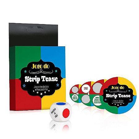 Jogo do Strip Tease Dados e Raspadinha - LD020
