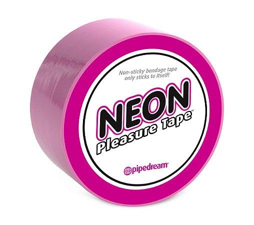 Fita Adesiva Bondage Neon Pleasure Tape Cores Variadas  - PD2113