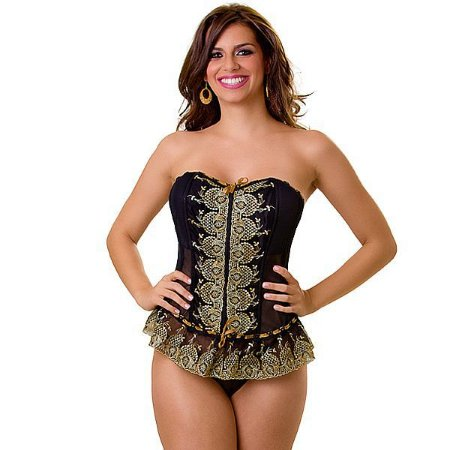 Corselet Luxuria e Calcinha Love Fantasies - LIN59