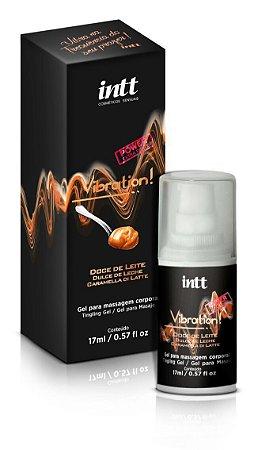 Vibrador Líquido Vibration Doce de Leite Intt 17 ml